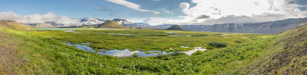 Wall Art - Photograph - The Island Of Green Inside Aniakchak Crater by Tim Grams