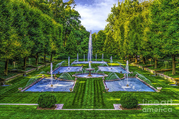 Wall Art - Photograph - The Italian Water Gardens by Nick Zelinsky