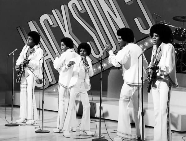 Michael Jackson Photograph - The Jackson 5 1972 by Mountain Dreams