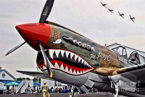 Warplane Photograph - The Jacky C by DJ Florek