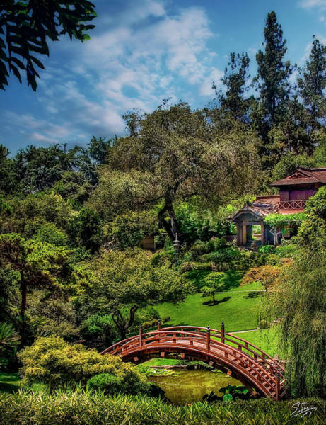 Photograph - The Japanese Garden - Huntington Gardens by Endre Balogh