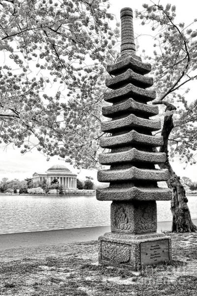 Wall Art - Photograph - The Japanese Pagoda by Olivier Le Queinec
