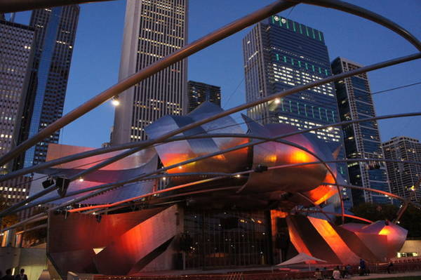Wall Art - Photograph - The Jay Pritzker Pavilion by Art Spectrum