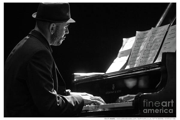 Photograph - The Jazz Pianist by Keith Morris