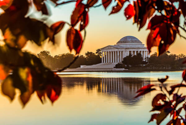 Jefferson In Autumn Art Print