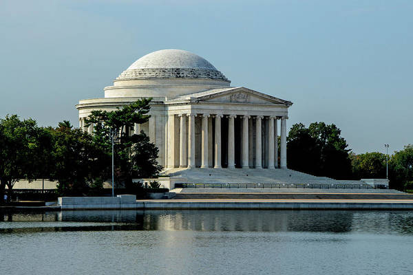 Photograph - The Jefferson Memorial 2 by Ed Clark