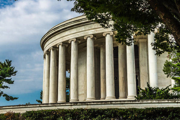 Photograph - The Jefferson Memorial by Ed Clark