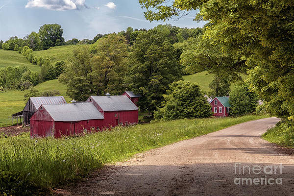 Photograph - The Jenne Farm by Rod Best