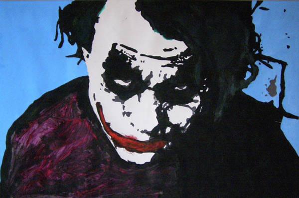 Super Hero Mixed Media - The Joker by Richard Payer