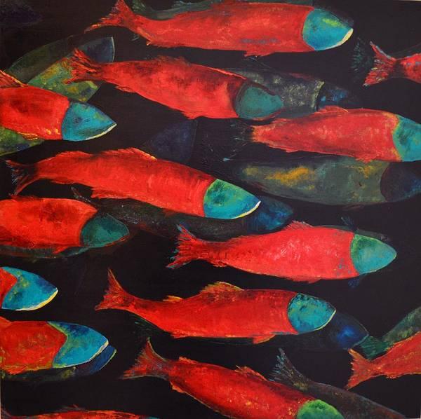Spawn Painting - The Journey by Joy  Pesaturo