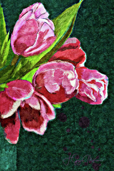 Digital Art - The Joy Of Spring by Jo-Anne Gazo-McKim