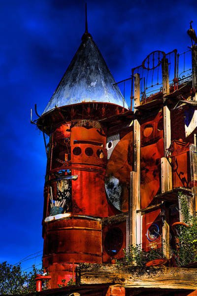 Photograph - The Junk Castle by David Patterson