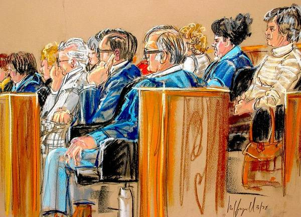 The Jury Art Print
