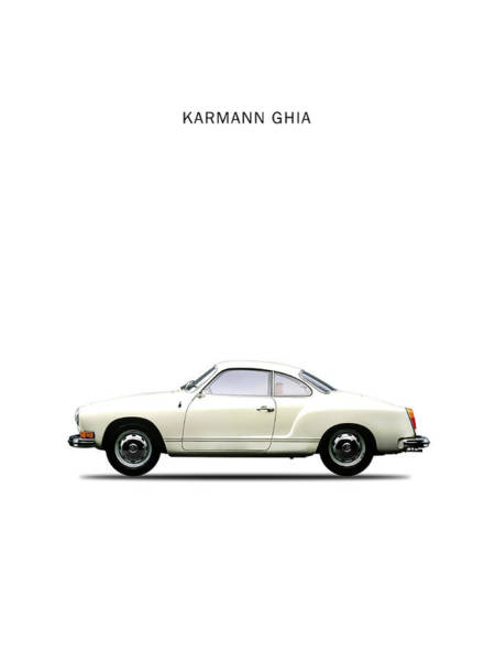 Volkswagen Wall Art - Photograph - The Karmann Ghia by Mark Rogan