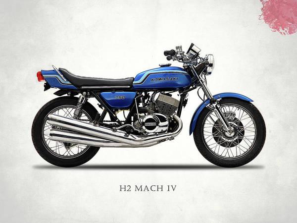 Iv Wall Art - Photograph - The Kawasaki H2 1975 by Mark Rogan
