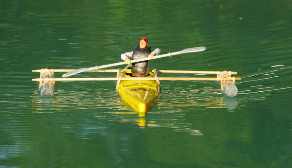 Photograph - The Kayak Team 8 by Digital Art Cafe