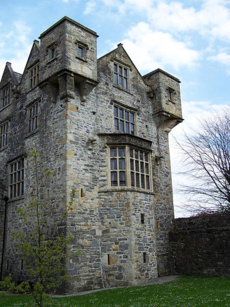 Gaelic Photograph - The Keep At Donegal Castle Ireland by Teresa Mucha