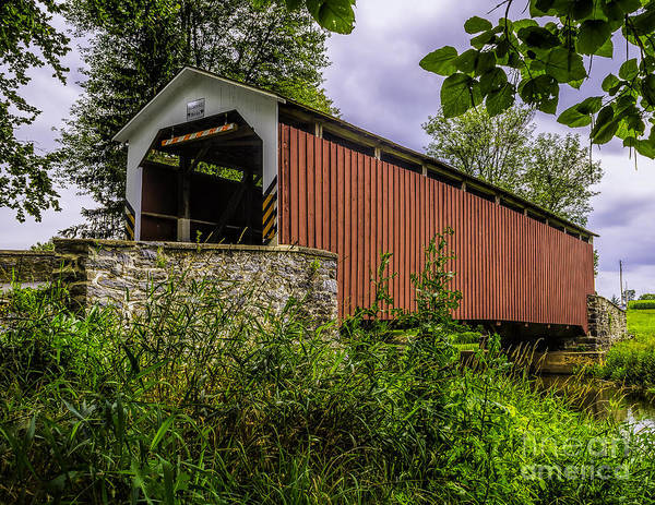 Photograph - The Kellers Covered Bridge by Nick Zelinsky