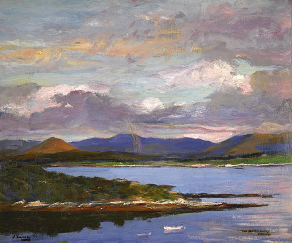 Wall Art - Painting - The Kenmare River - Evening by Sir John Lavery
