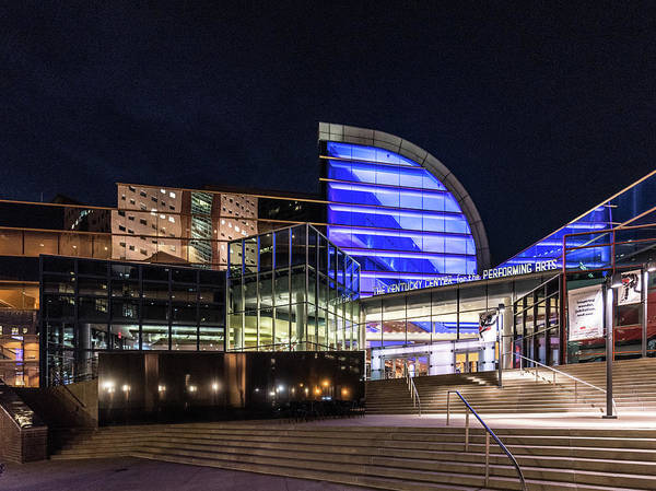 Photograph - The Kentucky Center For The Performing Arts by Randy Scherkenbach