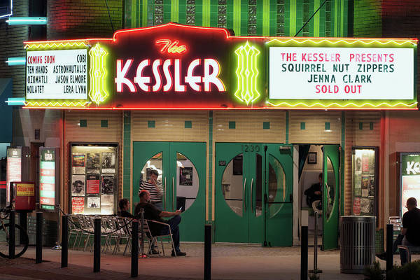 Photograph - The Kessler Theater 080918 by Rospotte Photography