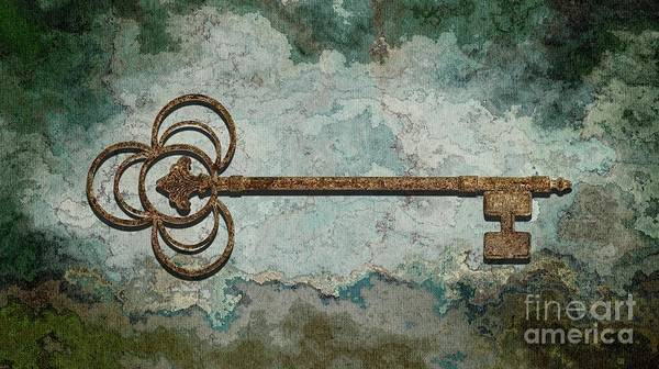 Wall Art - Digital Art - The Key - 01t by Variance Collections