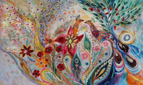 Wall Art - Painting - The Keys Of Light by Elena Kotliarker