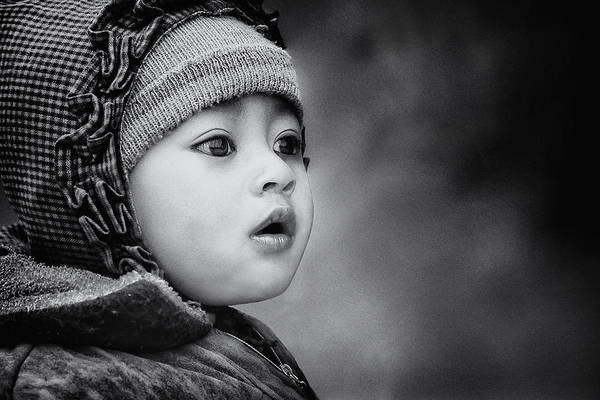 Street Photograph - The Kid From Sarangkot by Piet Flour