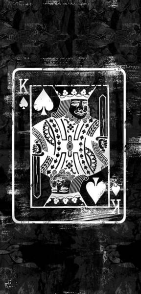 Cards Digital Art - The King Is Back by Canvas Cultures
