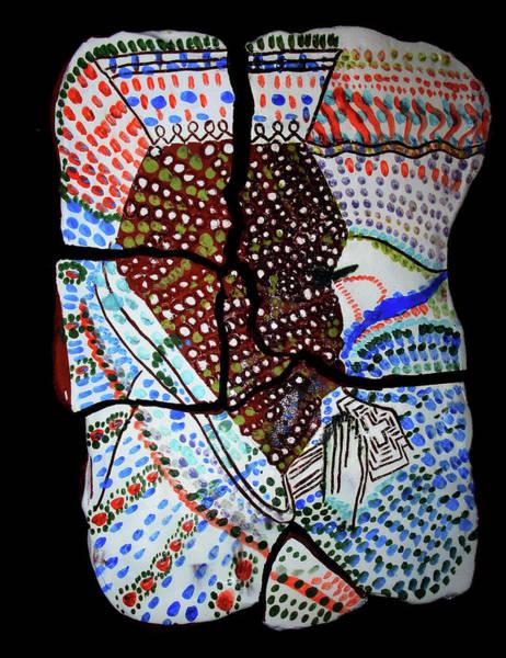 Ceramic Art - The King Of Hearts by Gloria Ssali