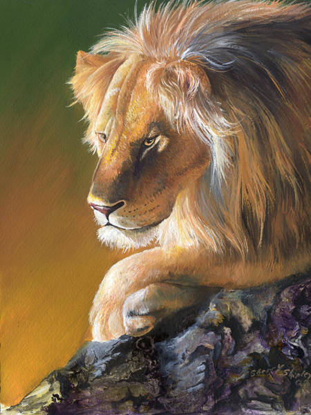 Painting - The King by Sherry Shipley