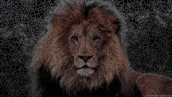 Digital Art - The King by Stephane Poirier