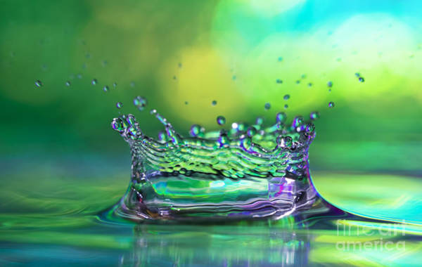 Bubble Up Photograph - The Kings Crown by Darren Fisher