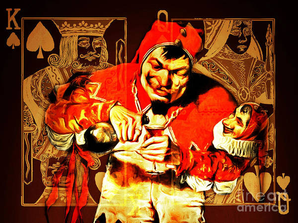The Joker Photograph - The Kings Jester 20150707 by Wingsdomain Art and Photography