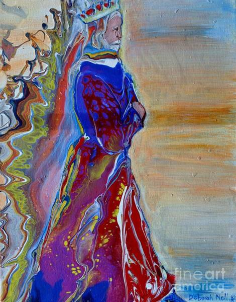 Painting - The King's Robe by Deborah Nell