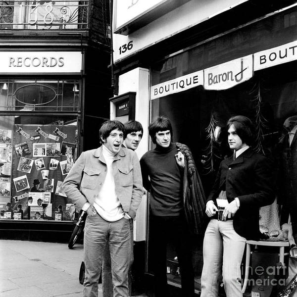 Chris Walter Wall Art - Photograph - The Kinks 1966 Dedicated Follower Of Fashion by Chris Walter