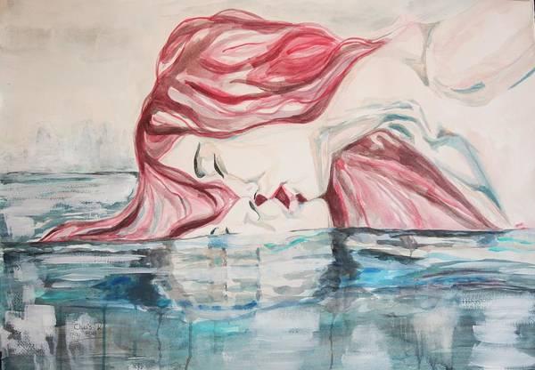 The Kiss Of Life Art Print