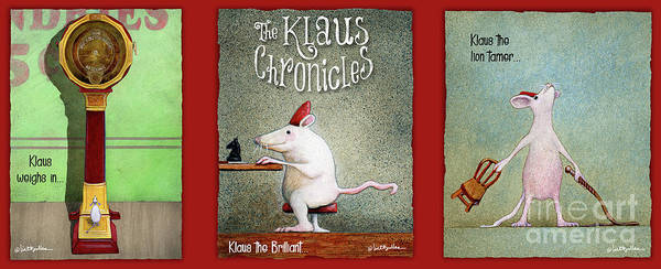 Painting - The Klaus Chronicles... by Will Bullas