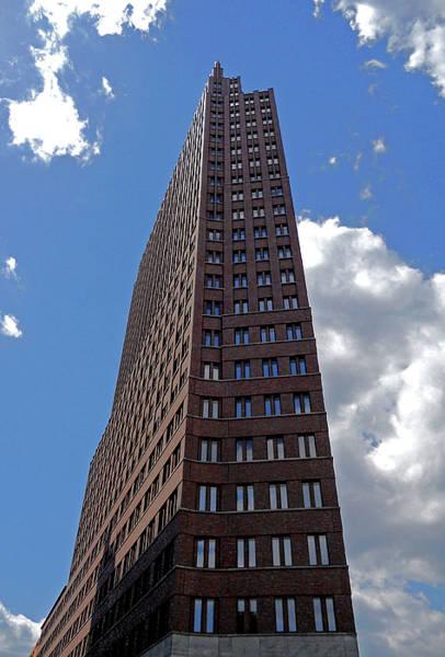 Photograph - The Kollhoff-tower ...  by Juergen Weiss