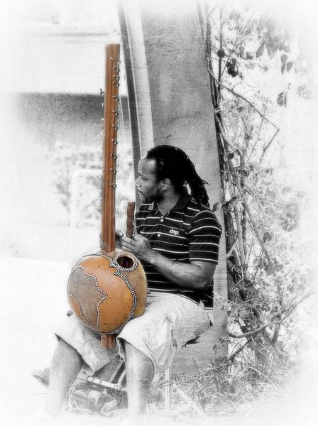 Kora Wall Art - Photograph - The Kora Player by Toni Abdnour