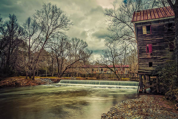 Childersburg Photograph - The Kymulga Mill by Phillip Burrow