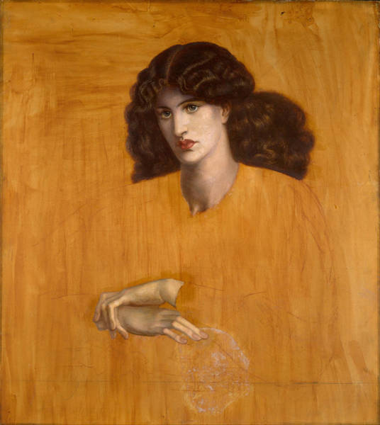 Painting - The Lady Of Pity by Dante Gabriel Rossetti