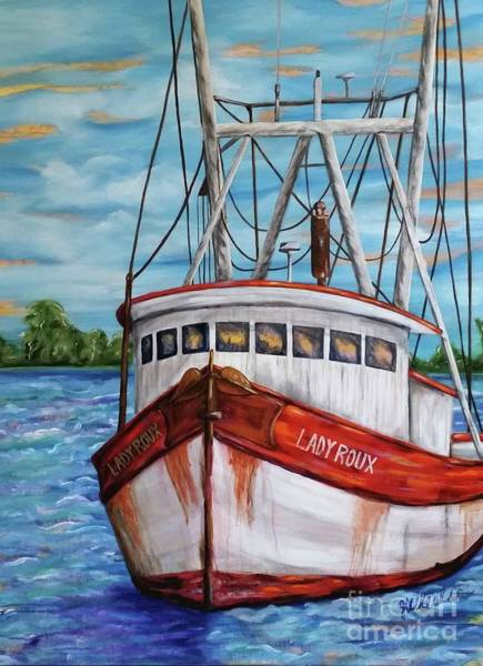 Alabama Painting - The Lady Roux by JoAnn Wheeler