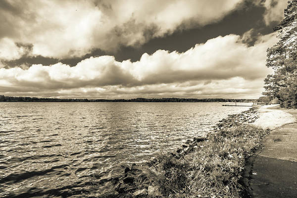 Photograph - The Lake #19 by Wade Brooks