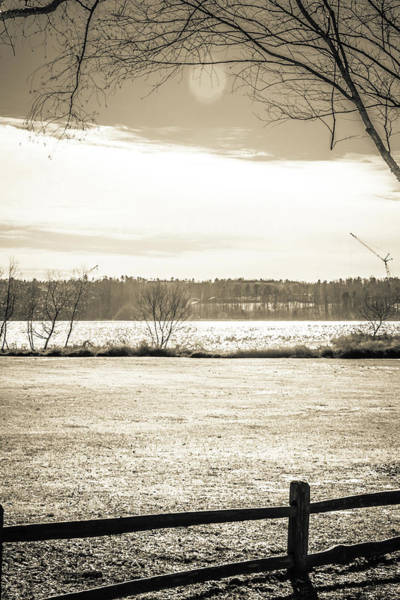 Photograph - The Lake #28 by Wade Brooks