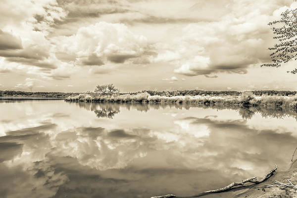 Photograph - The Lake #33 by Wade Brooks
