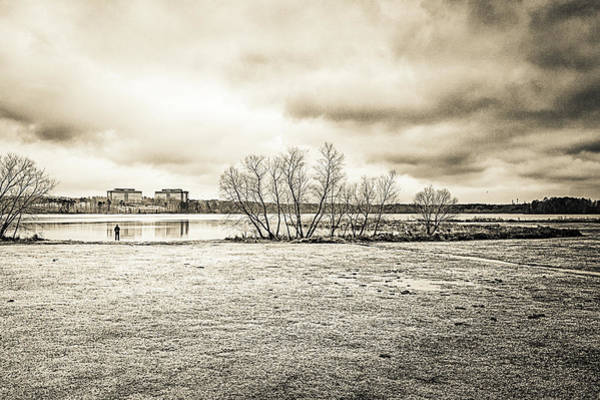 Photograph - The Lake #48 by Wade Brooks