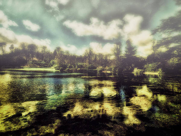 Digital Art - The Lake by Leigh Kemp
