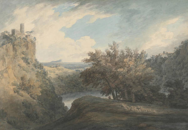 Painting - The Lake Of Nemi by John Robert Cozens