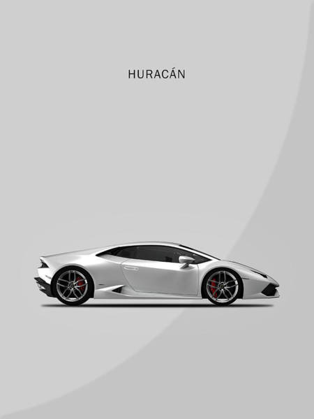Super Cars Photograph - The Lamborghini Huracan by Mark Rogan